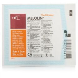 5 x Melolin Low Adherent Absorbent Sterile Dressings 5cm x 5cm FREE DELIVERY (5 Dressings)