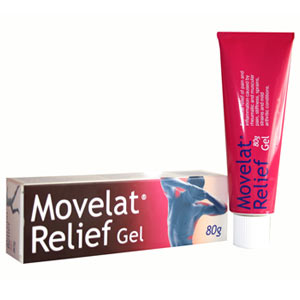 Movelat Relief Gel (80g Tube)
