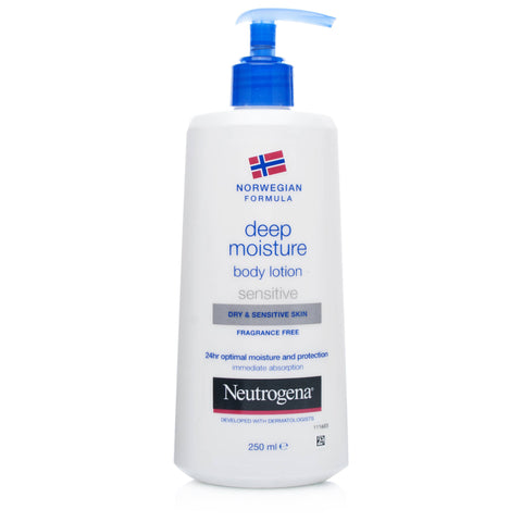 Neutrogena Body Lotion For Dry/ Sensitive Skin (250ml)