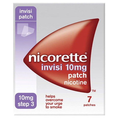Nicorette Invisi Patch 10mg - Step 3 (7 Patches)