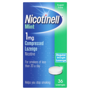 Nicotinell Lozenge 1mg Mint (36 Lozenges)