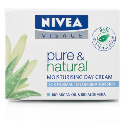 Nivea Visage Pure & Natural Day Cream Normal Skin (50ml)