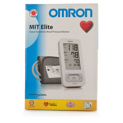Omron MIT Elite Digital Automatic Blood Pressure Monitor