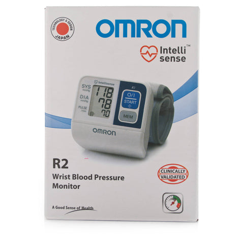 Omron R2 Digital Automatic Wrist Blood Pressure Monitor