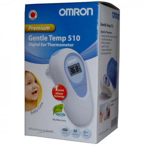 Omron Gentle Temp Digital Ear Thermometer MC-510-E2