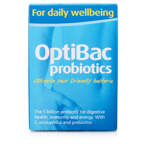 OptiBac Probiotics For Daily Wellbeing (60 Capsules)