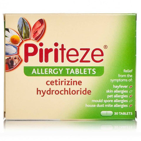 Piriteze One A Day Allergy Tablets (30 Tablets)