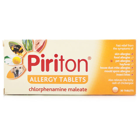 Piriton Allergy Tablets (30 Tablets)