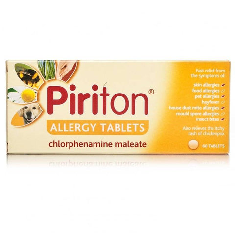 Piriton Allergy Tablets (60 Tablets)