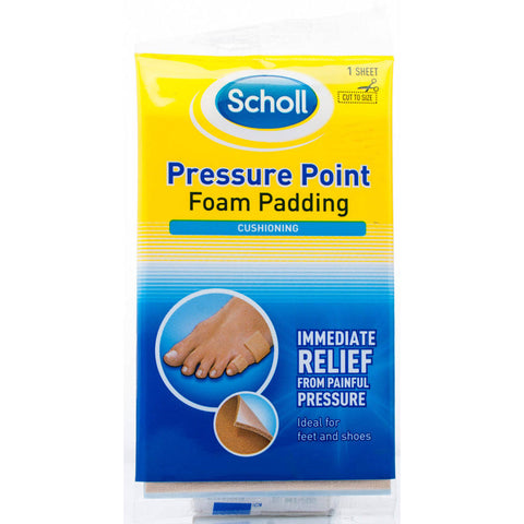 Scholl Pressure Point Foam Padding (1 Sheet)