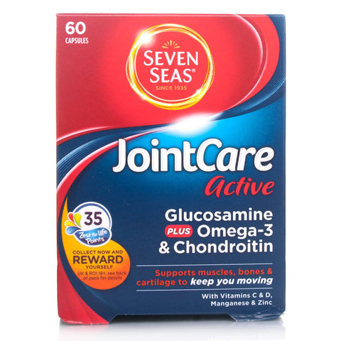 Seven Seas JointCare BeActive (60 Capsules)