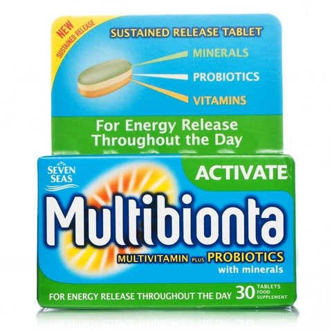 Multibionta Activate Multivitamin (30 Tablets)