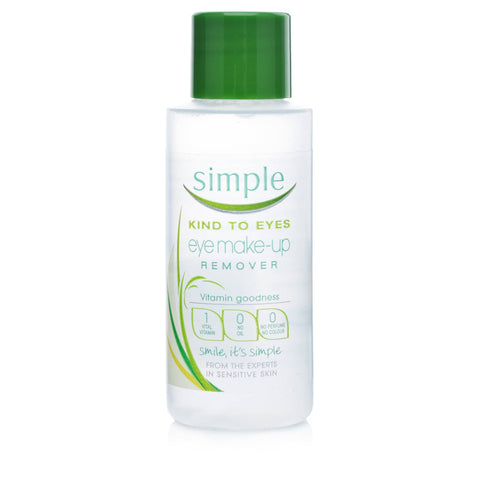 Simple Kind To Eyes Eye Makeup Remover (50ml)