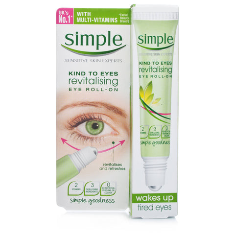 Simple Kind To Eyes Revitalising Roll On (15ml)