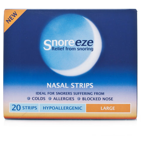 Snoreeze Nasal Strips Large (20 Strips)