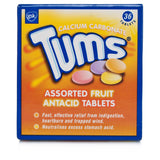 Tums Assorted Fruit Flavoured Antacid Tablets (36 Tablets)