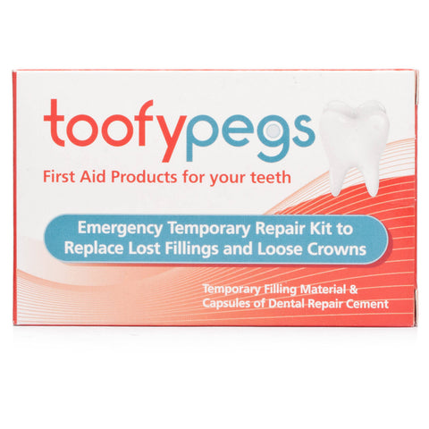 Toofypegs Emergency Temporary Repair Kit (ONE UNIT)