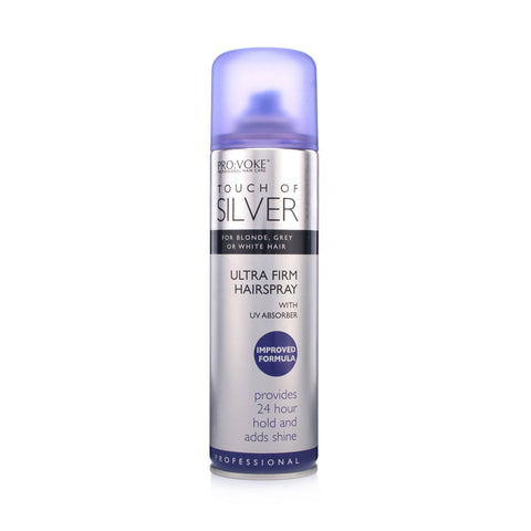 PRO:VOKE Touch Of Silver Ultra Firm Hair Spray (250ml)