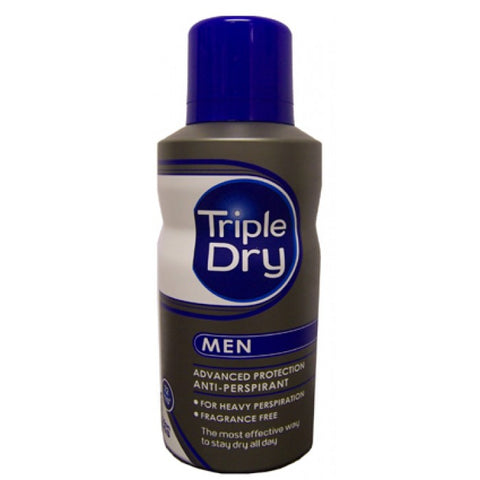 Triple Dry Advanced Protection Anti- Perspirant Spray Men 72 Hrs 150ml