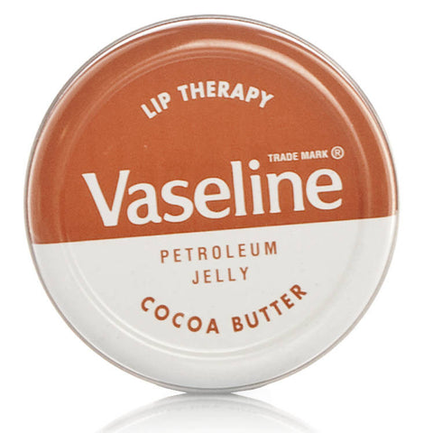 Vaseline Lip Therapy Cocoa Butter (20g Compact Tin)