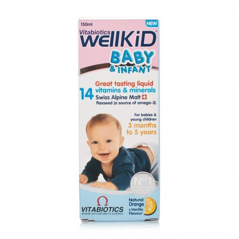 Wellkid Baby & Infant Syrup (150ml)