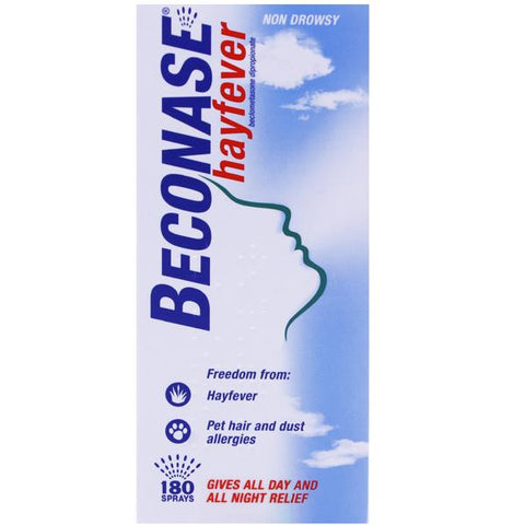 Beconase Hayfever Relief Nasal Spray for Adults (180 Sprays)