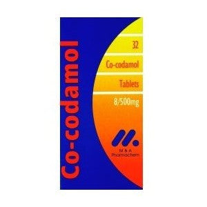 Co-Codamol 8/500mg Tablets FREE DELIVERY (32 Tablets)