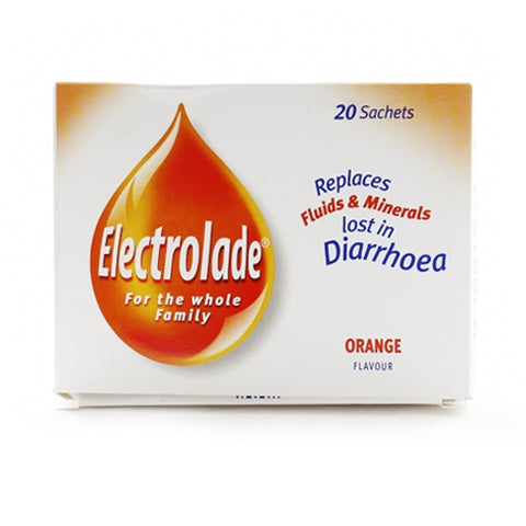 Electrolade Rehydration Sachets Orange (20 Sachets)