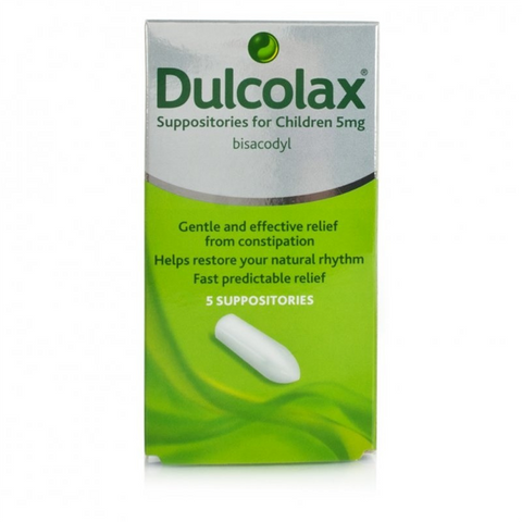 Dulcolax Suppositories (5 Suppositories)