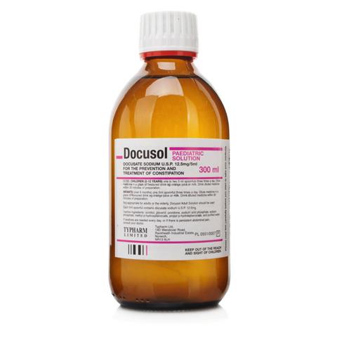 Docusol Paediatric Solution (300ml Bottle)