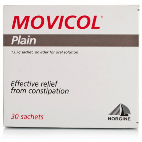 Movicol Plain Powder Sachets (30 Sachets)
