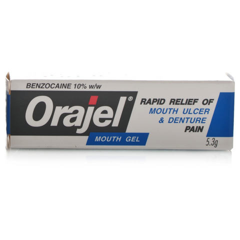 Orajel Mouth Gel (5.3g Tube)