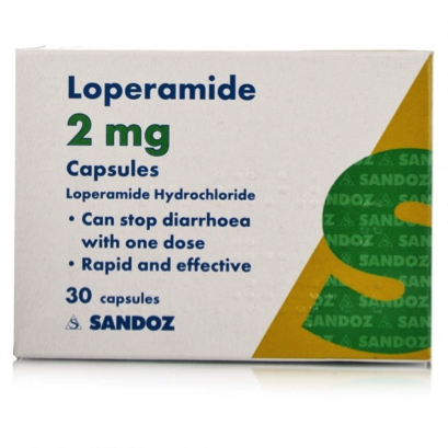 60 x Loperamide Capsules 2mg FREE DELIVERY