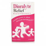 Dioralyte Relief Sachets Raspberry Flavour (6 Sachets)