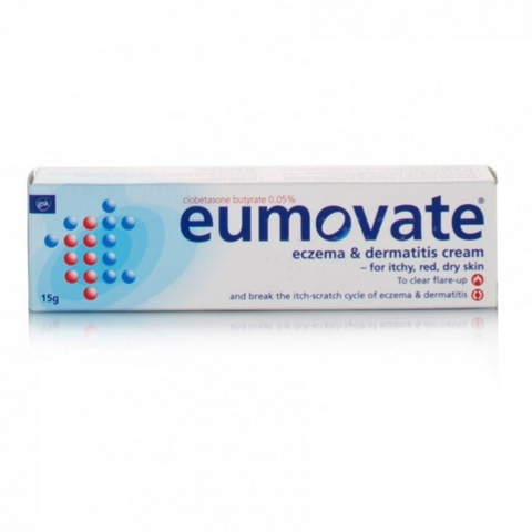 Eumovate Eczema & Dermatitis Cream 15g