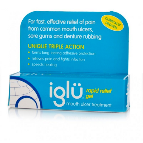 Iglu Rapid Relief Gel Mouth Ulcer (8g)