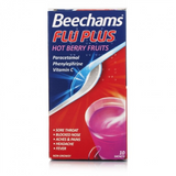 Beechams Flu Plus Hot Berry Fruits Sachets (10 Sachets)