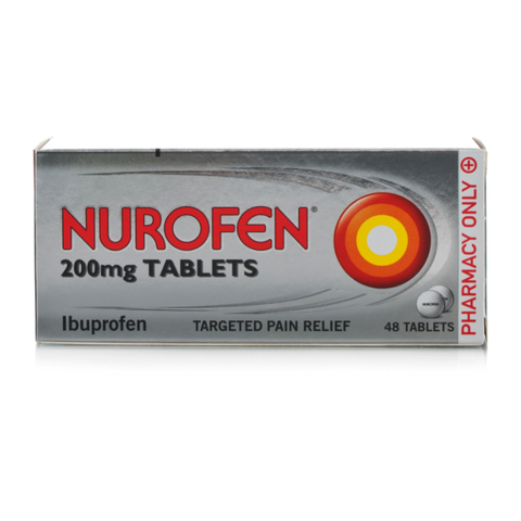 Nurofen Tablets 200mg (48 Tablets)