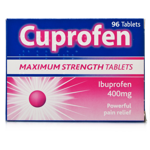 Cuprofen Maximum Strength 400mg Tablets (96 Tablets)