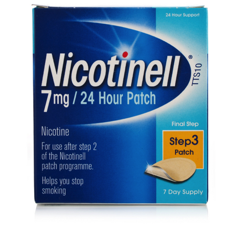 Nicotinell 7mg/24hr Patches TTS10 (7 Patches)