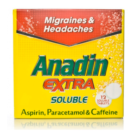 Anadin Extra Soluble (12 Soluble Tablets)