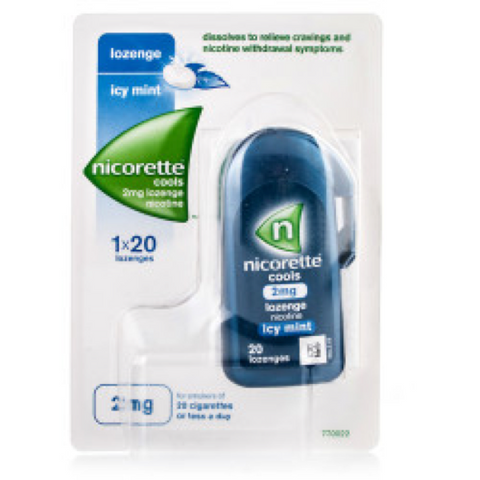 Nicorette Cools Lozenges Mint 2mg (1 x 20)