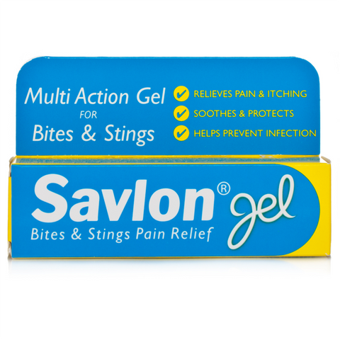 Savlon Bites And Stings Pain Relief Gel (20g Tube)