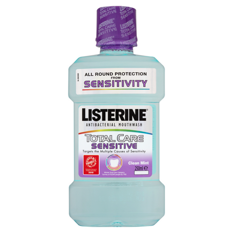 Listerine Total Care Sensitive Clean Mint (250ml)