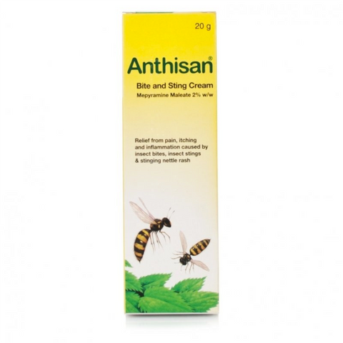 Anthisan Bite & Sting Cream (20g Tube)