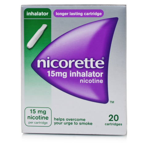 Nicorette Inhalator 15mg (20 Cartridges)