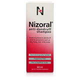 Nizoral Dandruff Shampoo (60ml Bottle)
