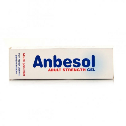 Anbesol Adult Strength Gel (10g)