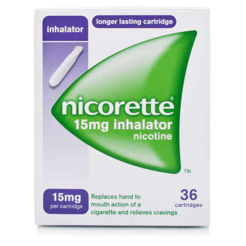 Nicorette Inhalator 15mg (36 Cartridges)