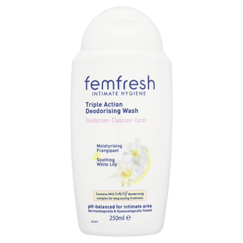 Femfresh Gentle Deodorising Cream Wash (250ml)